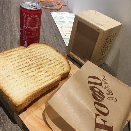 Toast géant