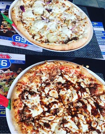 Mainvilliers, France : Pizza boursine et texanne