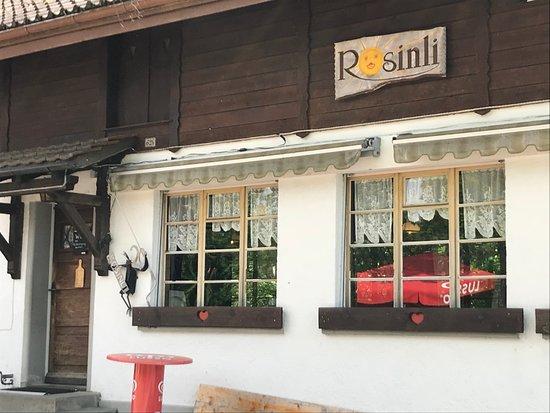 Berggasthaus Rosinli: Restaurant von aussen