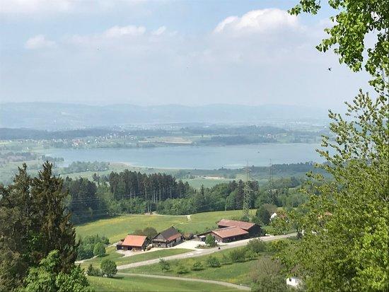 Berggasthaus Rosinli: Aussicht auf Pfäffikersee