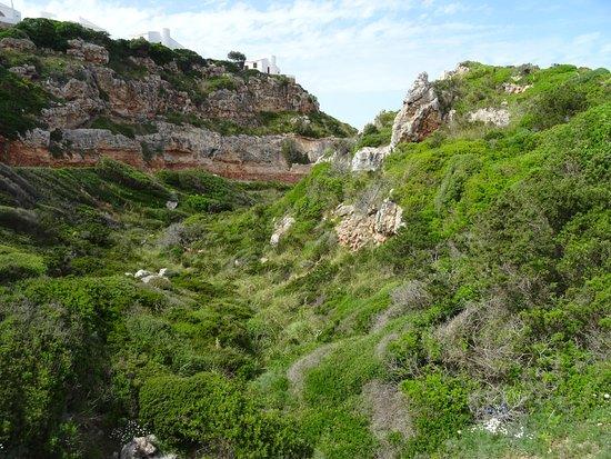 Necropolis de Cala Morell; archeological site in Cala Morell