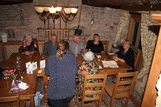 The Plough Inn at Brackenfield : This is in the Potting Shed at the far end of the dining area, my usual choice for its privacy.