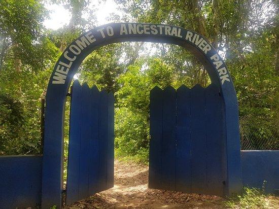 Assin Manso, Ghana: Ancestral Slave River Park