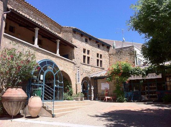 Saint-Quentin-la-Poterie, فرنسا: La Maison de la terre à St Quentin la Poterie : musée et galerie