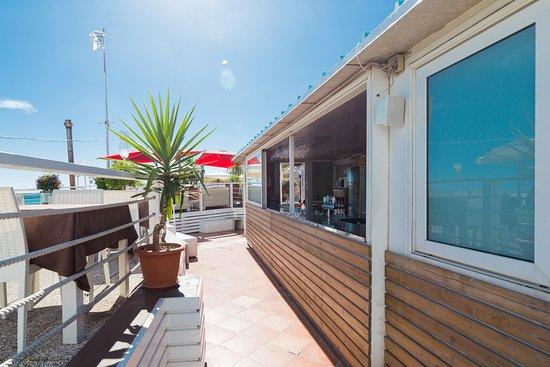 Bar Terrazza Picture Of Estoril Beach Club Genoa