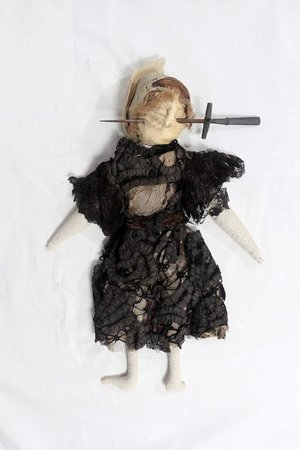 Boscastle, UK: Poppet made as a curse photo by Tom Last