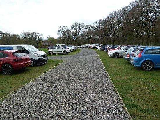 Temple Sowerby, UK: Car park pm