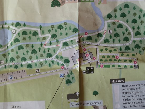 Temple Sowerby, UK: Site map