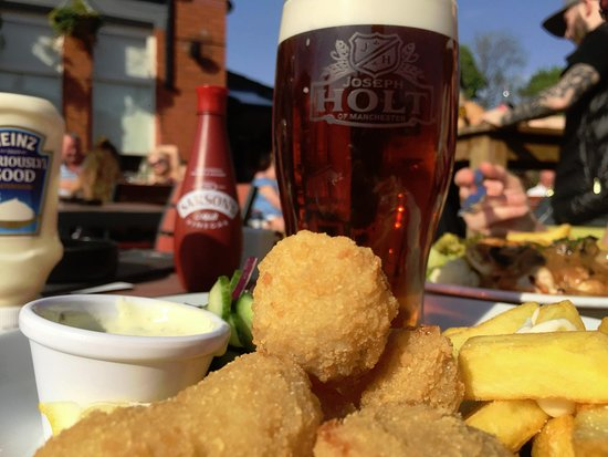 The Morning  Star: Great food as always, along with a cool beer .. Fantastic ..