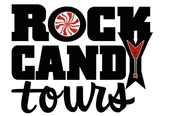 Macon, Georgien: Rock Candy Tours' Logo
