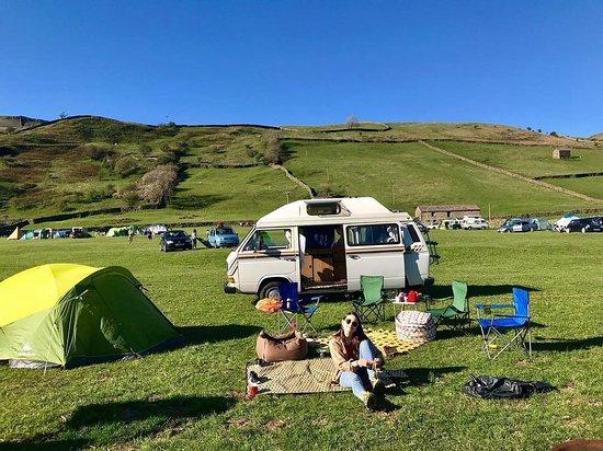 Muker, UK: Usha Gap campsite