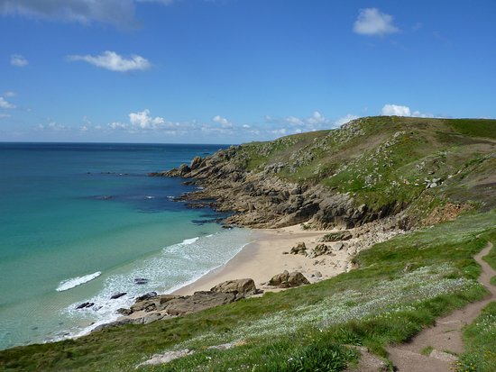 South West Coast Path Land S End Hostel Porthcurno To Penzance One Of The