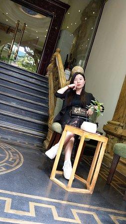 Hanoi Meracus Hotel 1 : Hotel entry