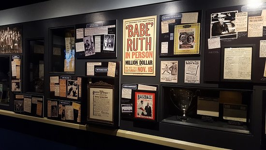 a special section for legendary mlb player babe ruth picture of rh tripadvisor com