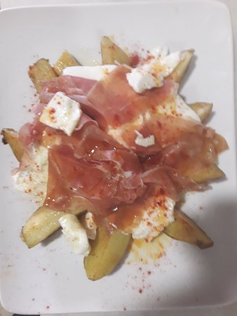 Daimus, สเปน: Patatas con jamón