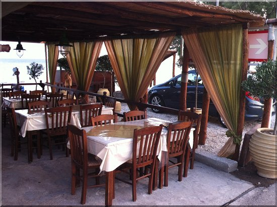 Vatera, Greece: Εστιατόριο