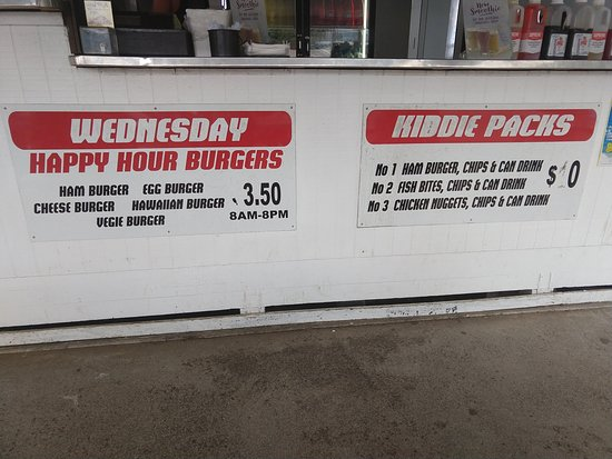 Palace Takeaways: Kid options and happy hour burger special