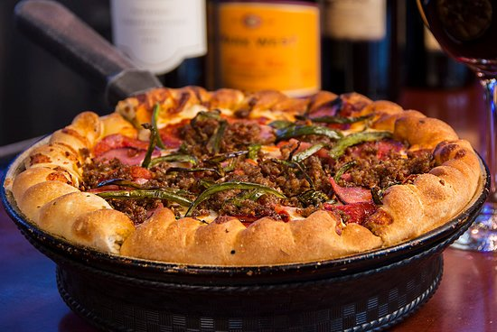 Steakhouse Fire Pizza - Picture of Louie's Grill & Bar