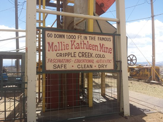 Mollie Kathleen Gold Mine Foto