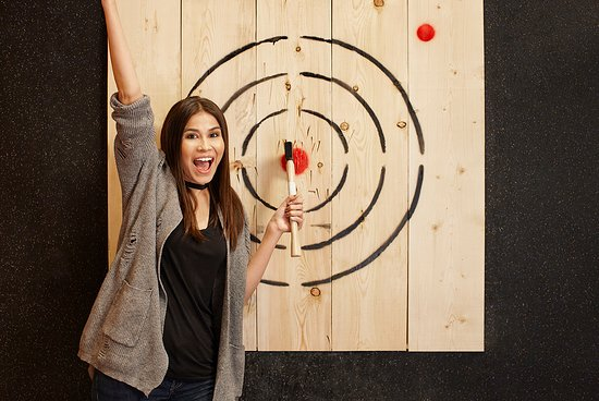 Axe Throwing - Picture of The Rec Room, London - Tripadvisor