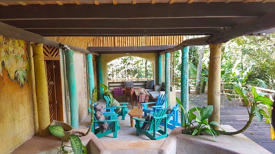 Rio Dulce, Γουατεμάλα: Las Terrazas 3 Living area