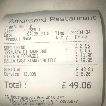 Amarcord Italian Restaurant: photo1.jpg