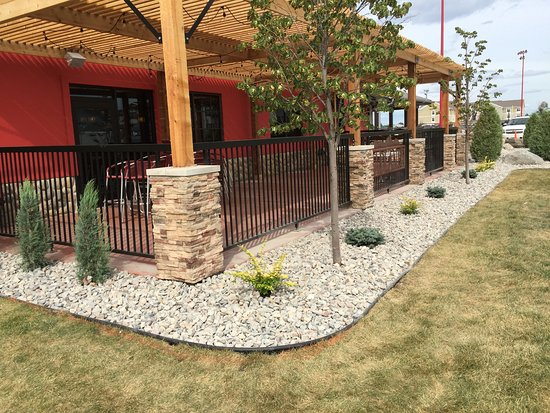 Now Open Outdoor Patio Seating Picture Of Badlands Restaurant And