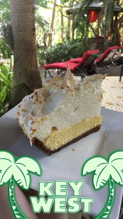 Atlantis House: The best Key Lime pie!