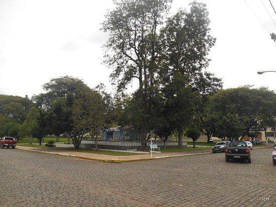 Relvado, RS: Praça Harmonia