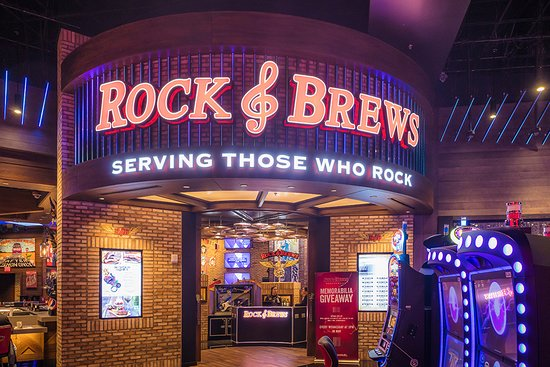 Rock & Brews: Located on the second floor at San Manuel Casino.