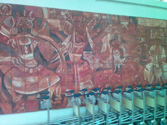 Mattala - Rajapaksa International Airport - murual 2 detail 1