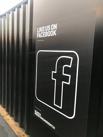 Boxpark Shoreditch: like the branding!