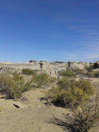 Parque Provincial Ischigualasto: otra vista del valle de la luna