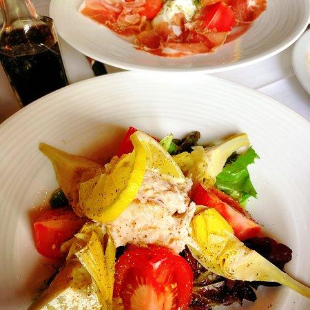 A Bellagio: Crab salad