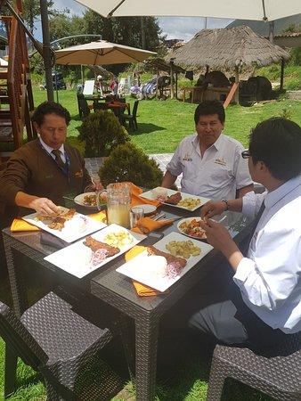 Sicuani, Peru: platos a la carta