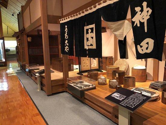 Miharu-machi, Japan: 館内展示