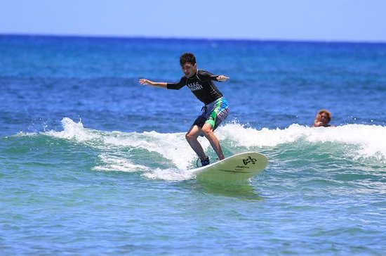 Oahu North Shore Surfing Lesson with...