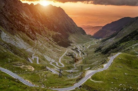 The Road in the Sky: Transfagarasan...