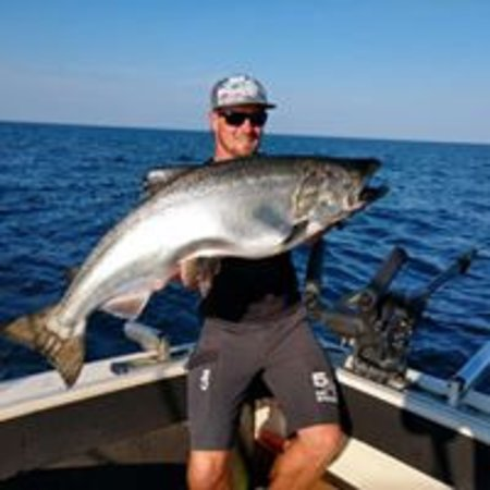 Baileys Harbor, WI: King Salmon