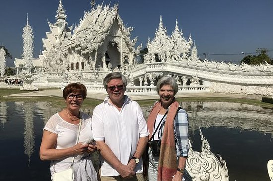 Chiang Rai—White Temple and Golden Triangle Private Tour from Chiang...