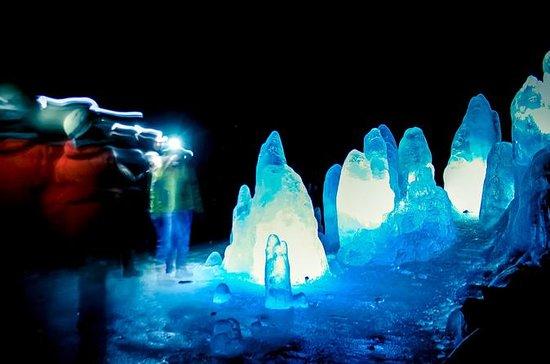 Mývatn湖のLofthellir Ice Cave