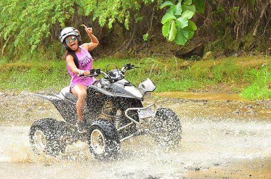 2 Hour ATV River and Jungle Tour