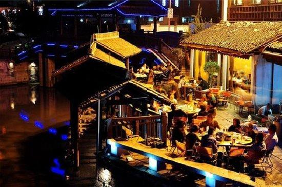 Hangzhou Night Tour avec Food Street...