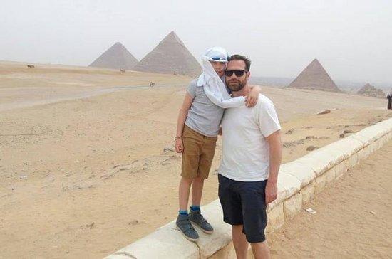Pirâmides de dia inteiro e tour pela...