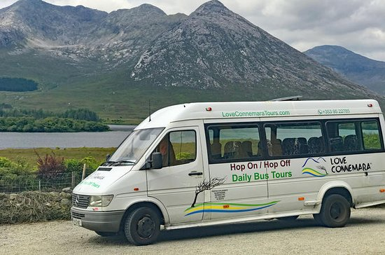 Hop-On Hop-Off-buss-tur på Connemara