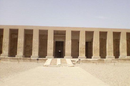 Besichtigung der Tempel von Danderah...