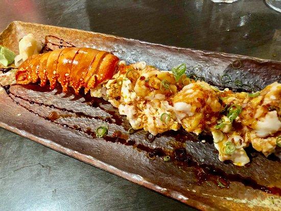 Toshiya Restaurant: Lobster volcano