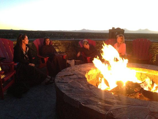 Powell Butte, OR: very pretty dinner spot where we laughed about the most ridiculous spa experience ever