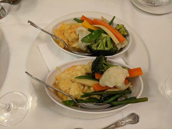 Ennis, Ireland: Side dish of veggies