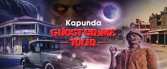 ‪‪Kapunda‬, أستراليا: Kapunda Ghost Crime Tour.‬
